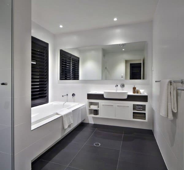 Top 60 Best Bathroom Floor Design Ideas Luxury Tile Flooring