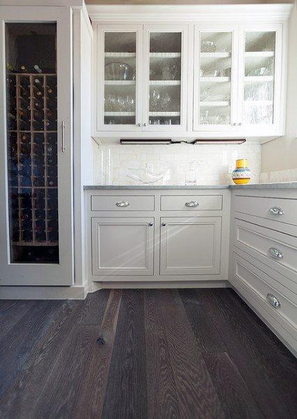 Dark Hardwood Kitchen Flooring Ideas
