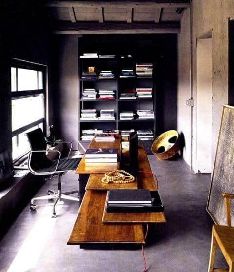 Home office ideas for men work space design photos for Home office decorating ideas for men