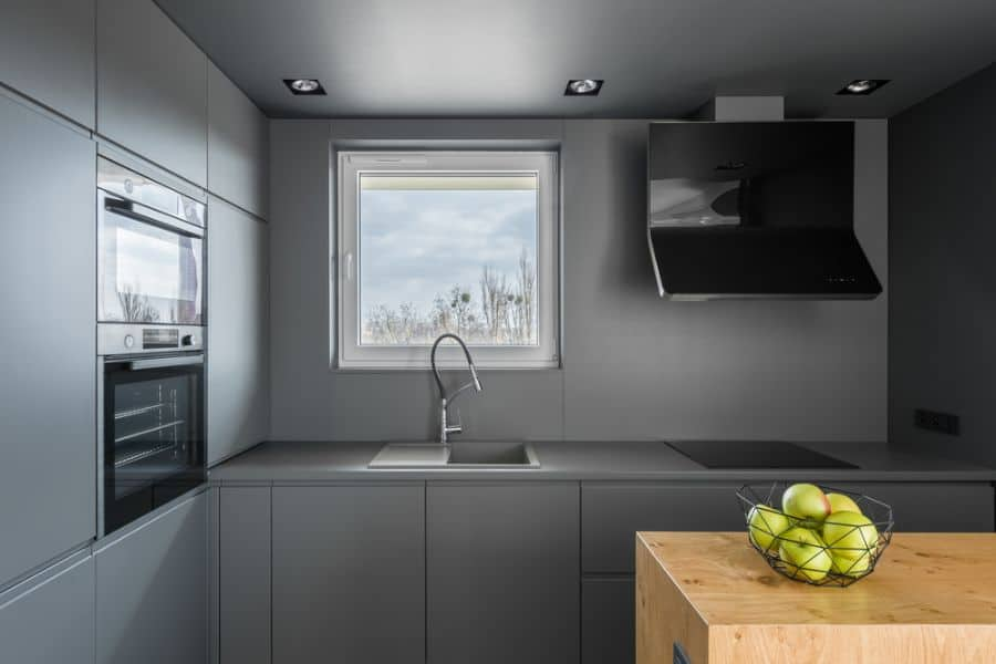 Dark Interior Kitchen Paint Colors 1