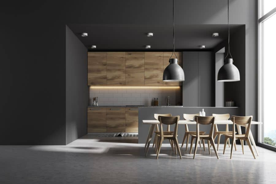 Dark Interior Kitchen Paint Colors 3