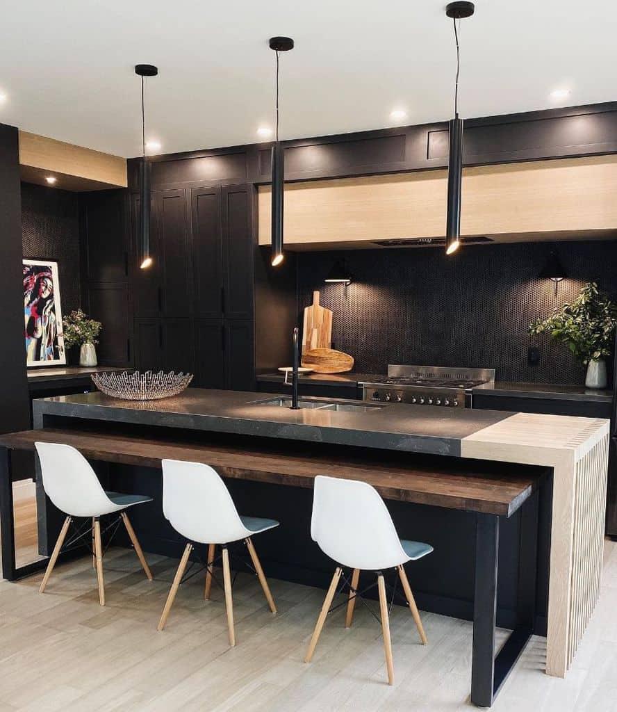 Dark Interior Kitchen Paint Colors Nicolejacobsdesign