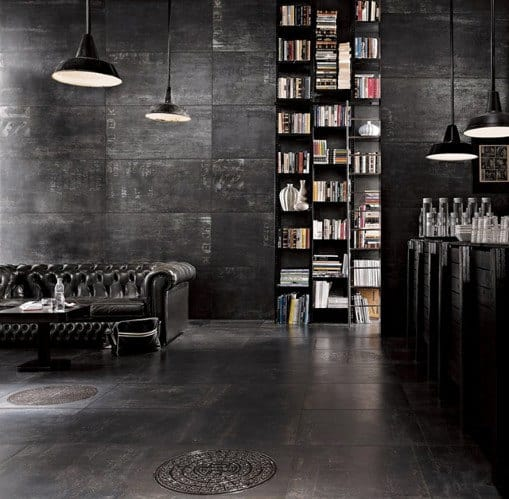 Dark Man Cave Designs