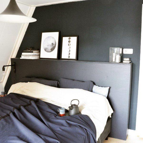 Feminine Bedroom Designs Dark Navy: Top 50 Best Navy Blue Bedroom Design Ideas