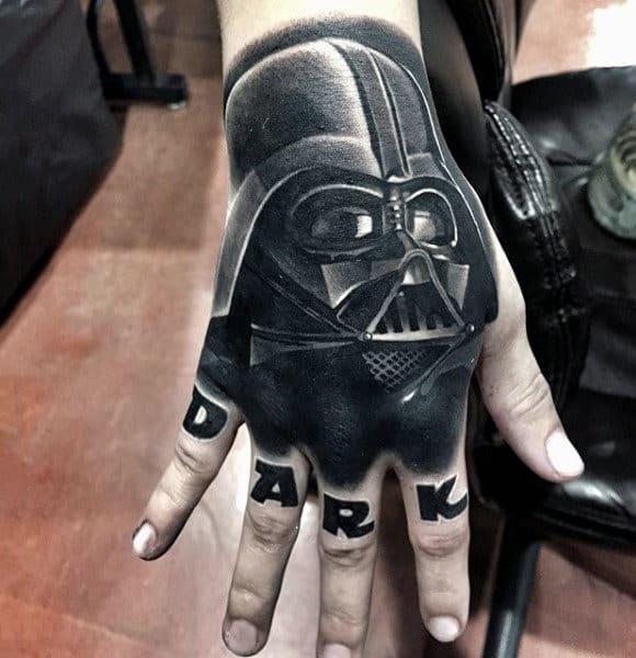 2158bf670 100 Darth Vader Tattoo Designs For Men - Cool Star Wars Ideas