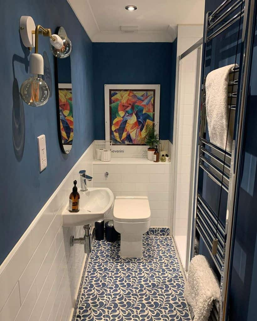 Dark Small Bathroom Paint Ideas Thisoldtownhouse