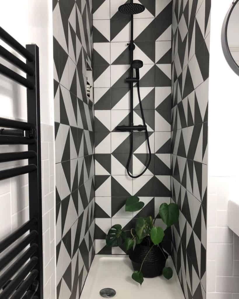 Dark Small Powder Room Ideas Houseinthemiddle