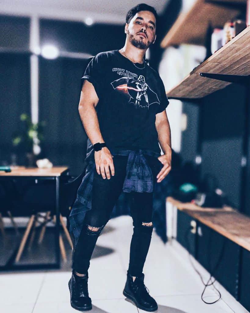 Dark Vader Grunge Outfit