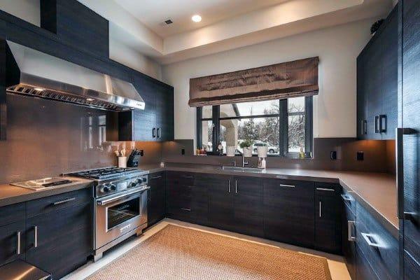 Dark Wood Kitchen Cabinet Ideas