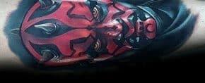 50 Darth Maul Tattoo Designs For Men – Star Wars Ink Ideas