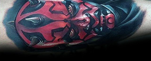 Darth Maul Tattoo Designs For Men