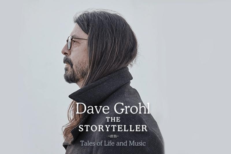 Dave Grohl Releasing First Memoir 'The Storyteller'