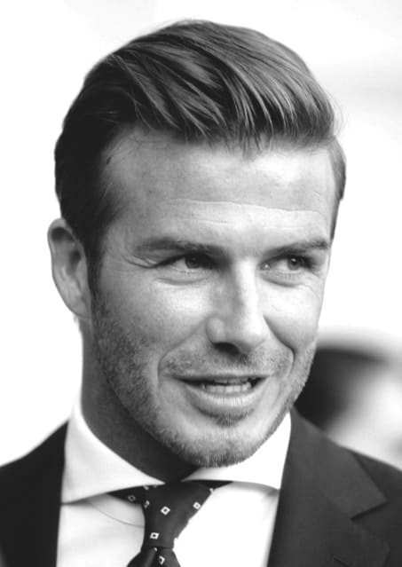 David Beckham Business Hair Ideas For Men. Fashionable Mens Business Long  Hairstyles