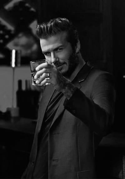David Beckham Classy Hairstyle Ideas For Males