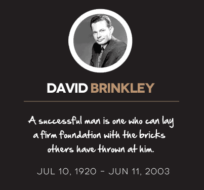 David Brinkley quote