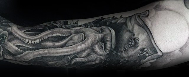 Davy Jones Tattoo Designs For Men
