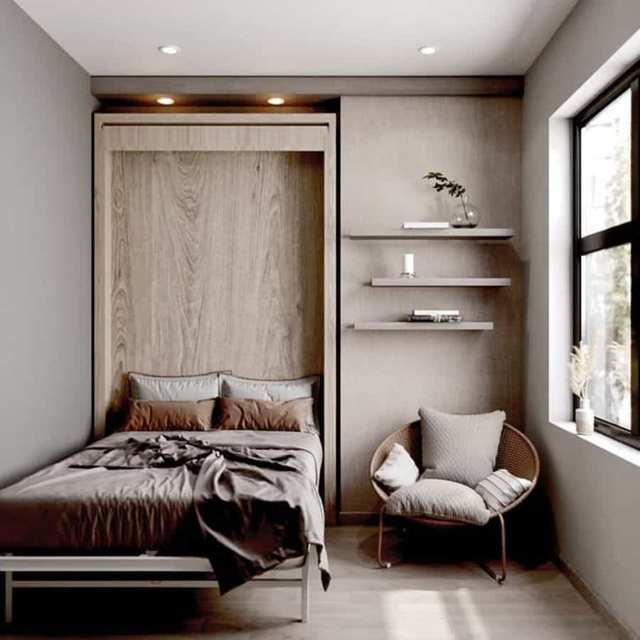Daybed Or Murphy Bed Tiny Bedroom Ideas Wallbedsystemsltd