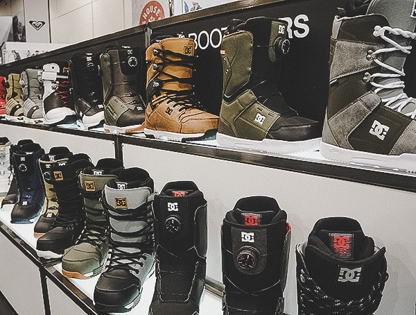 Dc Snow Boots Display 2019