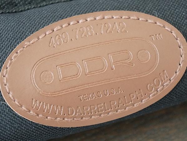 Ddr Leather Patch Darrel Ralph Knives Case