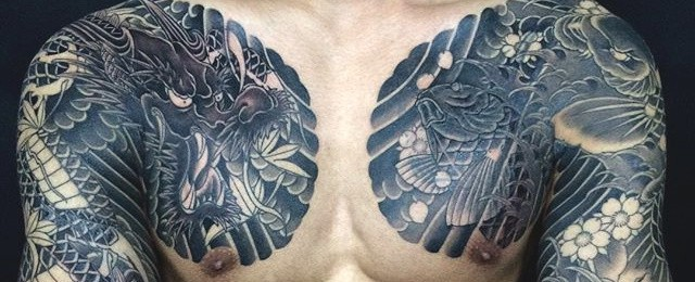Deadly Dragon Tattoos For Men