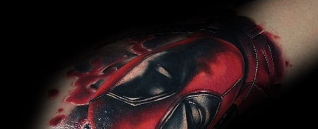 Deadpool Tattoo Designs For Men