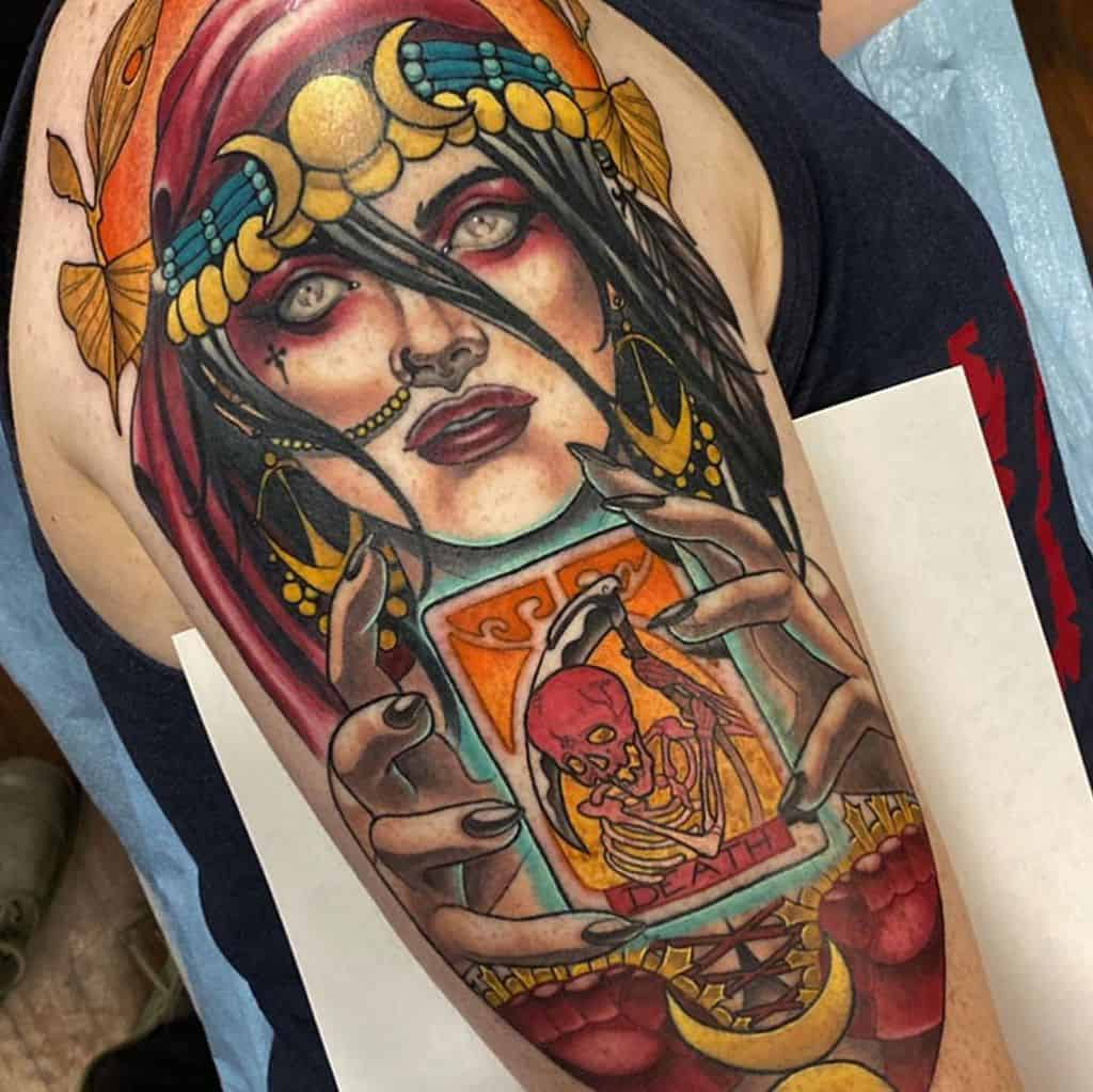 Death Gypsy Tattoo