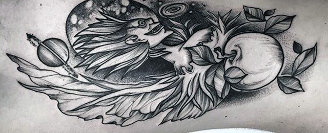 Death Note Tattoo Designs For Men