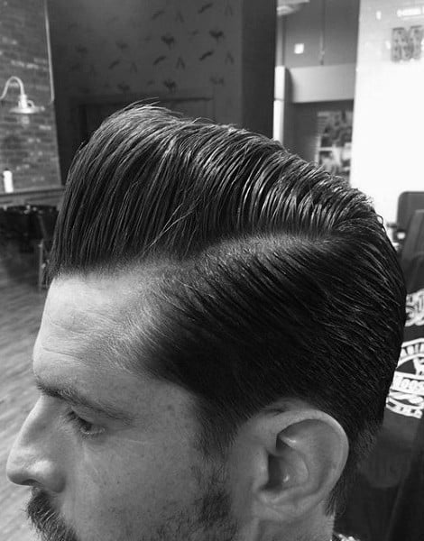 Debonair Ducks Arse Haircut For Men