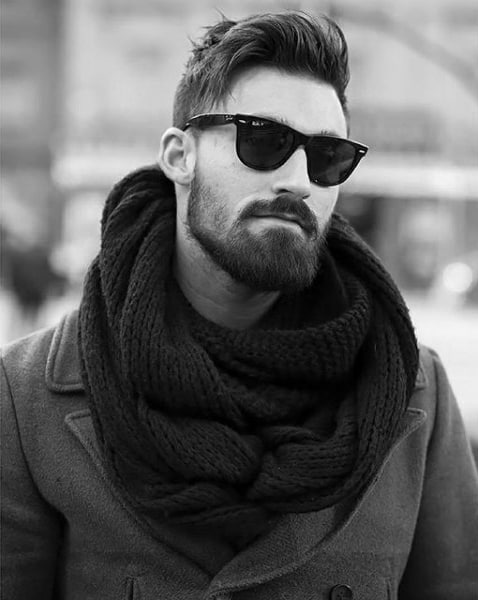 Debonair Guys Hairstyles For Short Length Thick Hair