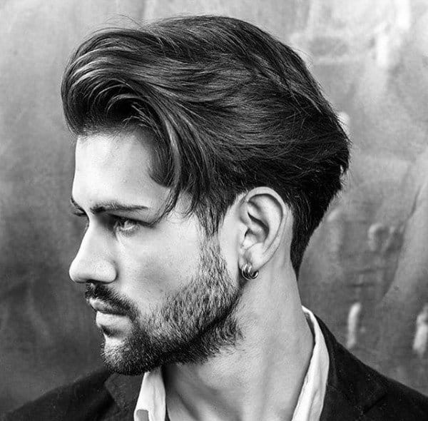 Debonair Male Hair Style Medium