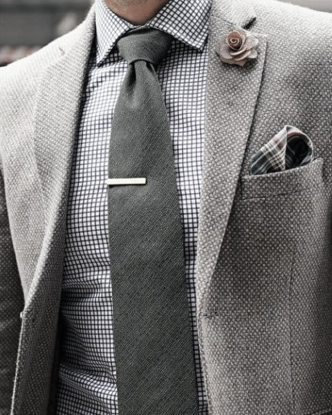 Debonair Male Trendy Outfits Fashion Styles Grey Color