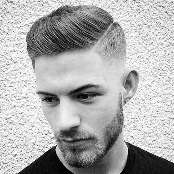 Debonair Short Length Quiff Haircuts For Guys