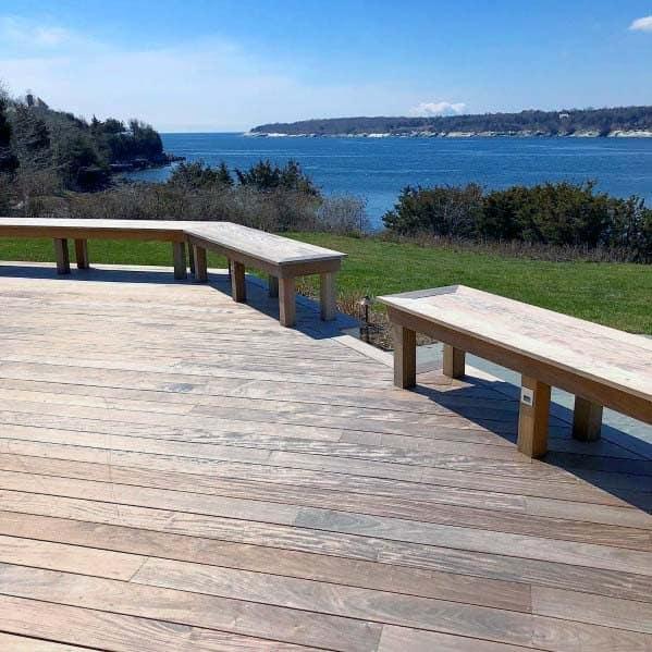Deck Bench Design Idea Inspiration
