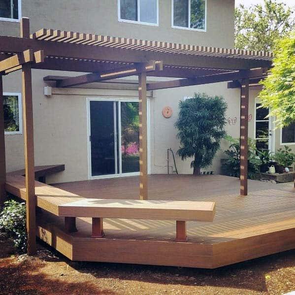 Deck Bench Home Ideas