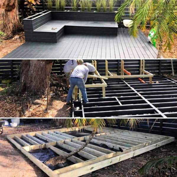 Deck Bench Idea Inspiration