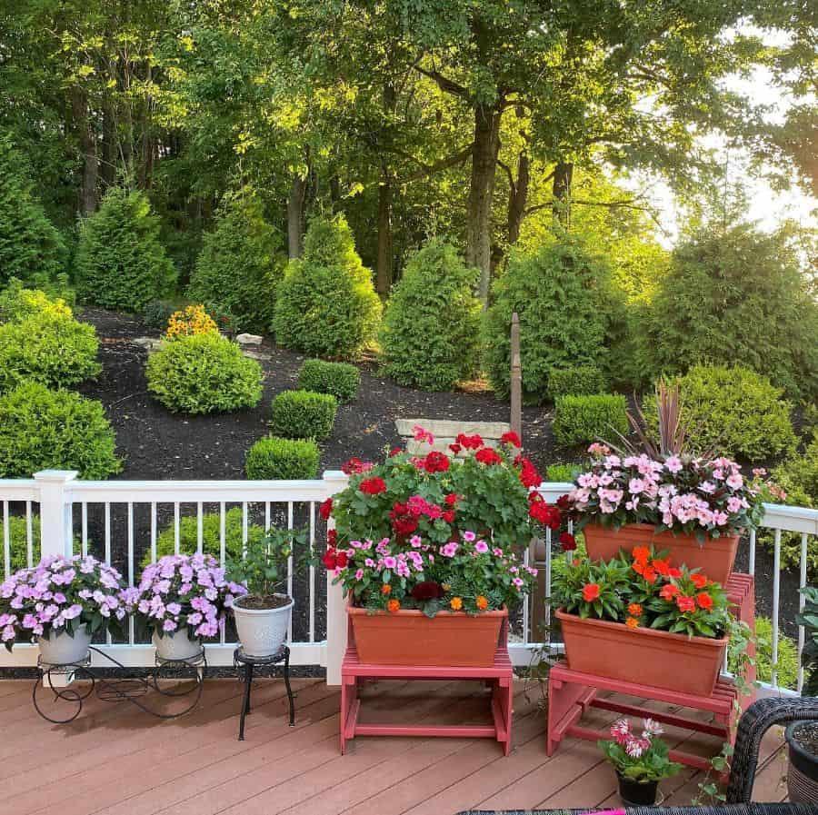 deck container garden ideas leann.vitalwomen