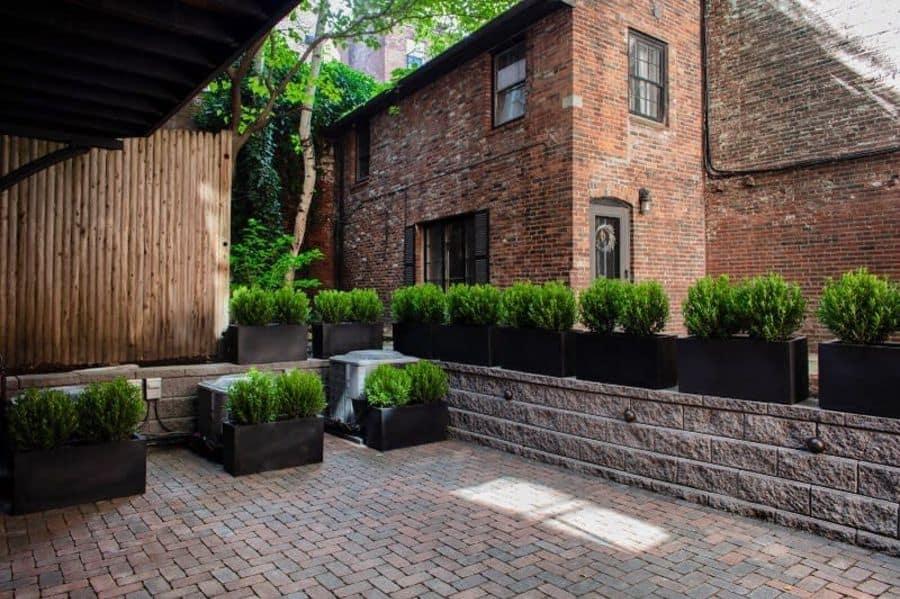 deck container garden ideas ncassidy_designer
