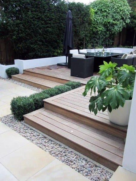 Backyard Deck Awnings