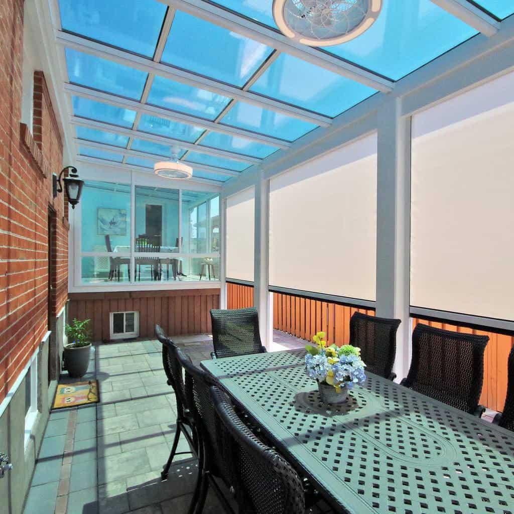 deck enclosed patio ideas fourseasonssunroomstoronto