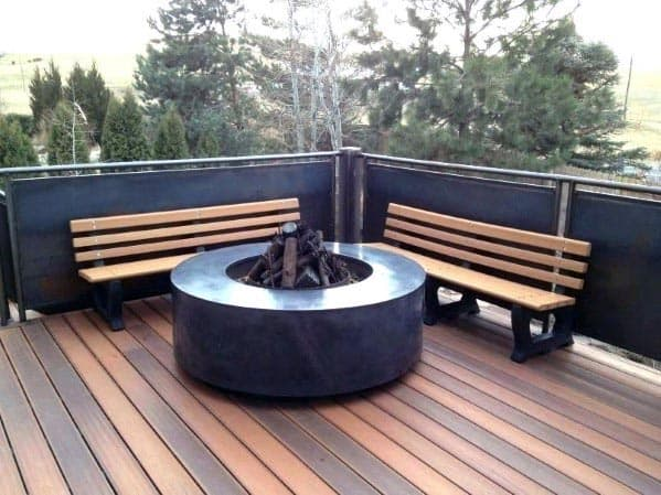 Deck Fire Pit Spectacular Ideas