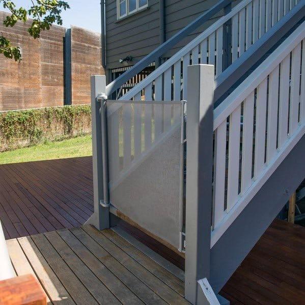 Deck Gate Design Ideas Mesh Net