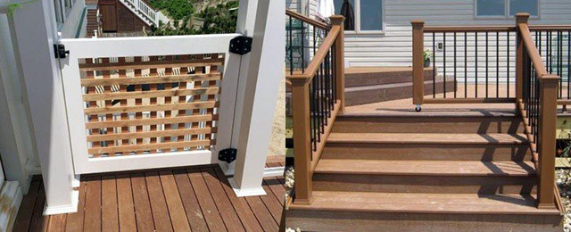 Top 50 Best Deck Gate Ideas – Backyard Designs