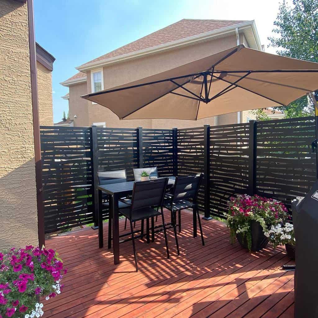 deck patio privacy ideas bigdogdecks
