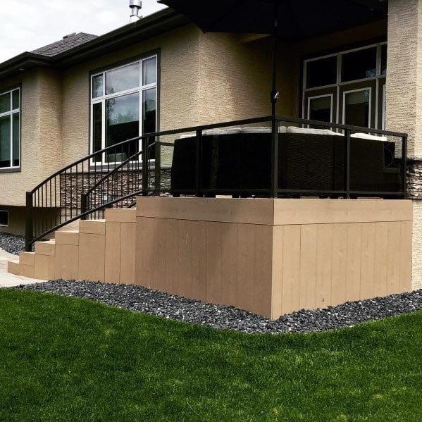 Deck Skirting Cool Backyard Ideas