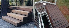 Top 50 Best Deck Steps Ideas – Backyard Design Inspiration