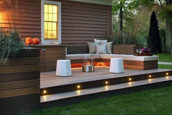 Backyard Deck Bar