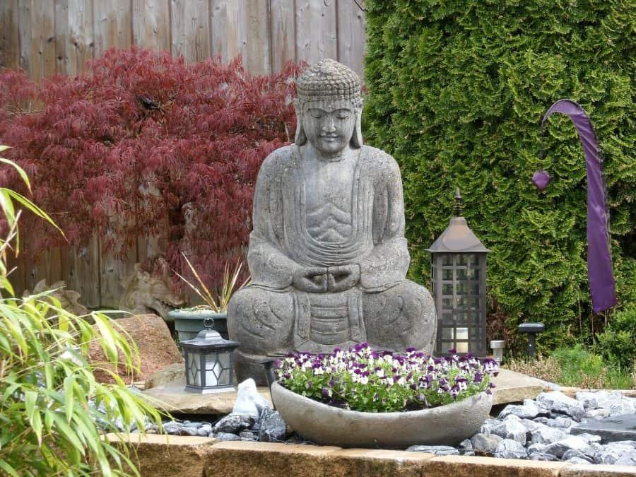 decor and religious sculpture zen garden ideas 3