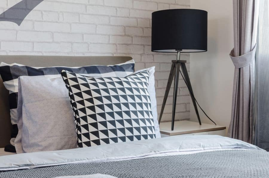 decor black and white bedroom ideas