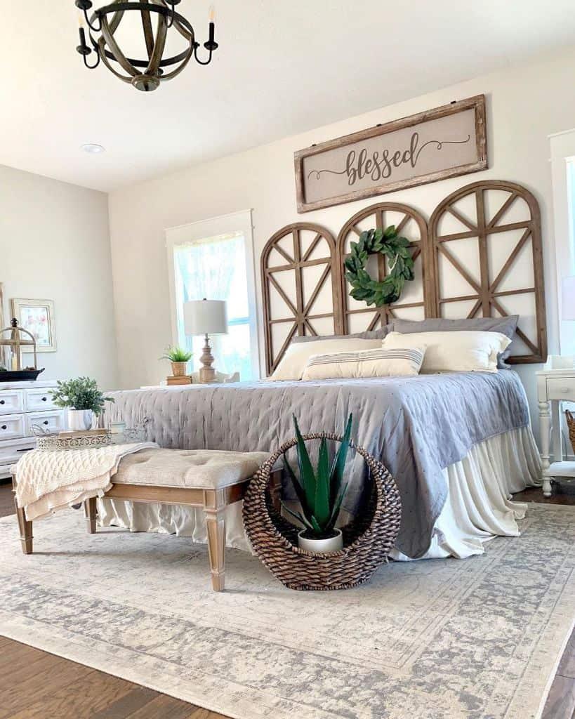 The Top 76 Farmhouse Bedroom Ideas Interior Home And Design
