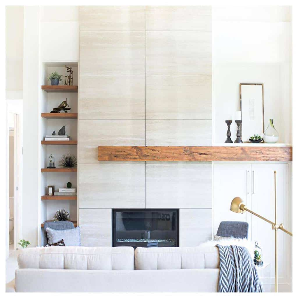 decor fireplace wall ideas sticksandstonesdesign